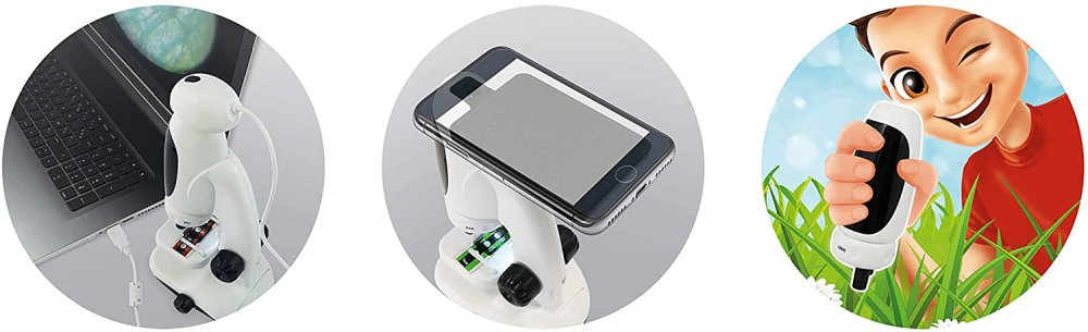 Funkcie digitalneho mikroskopu pre deti